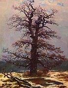 """New artwork for sale! - """" Oak Tree In The Snow 1828 by Friedrich Caspar David """" - http://ift.tt/2AYemeU"""