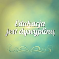 "Niebieski Segregator - Charlotte Mason -""Edukacja jest dyscypliną"" - ""Education is an atmosphere, a discipline, a life."""