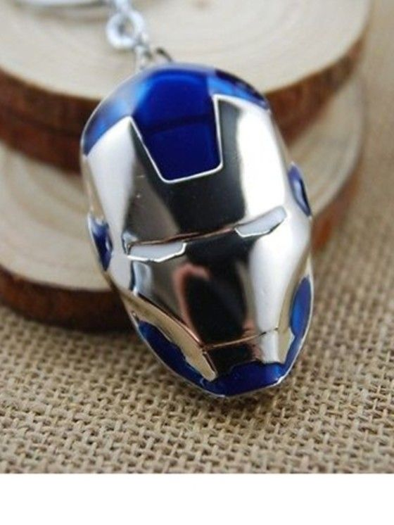 Shopo.in : Buy Iron Man Keychain (blue) online at best price in New Delhi, India