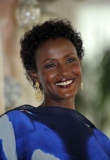 Waris Dirie ≈Circumcised at the age of 3 in the name of tradition, Waris Dirie has made the fight against female genital mutilation the major combat of her life. The daughter of Somalian nomads, Waris Dirie fled her country at the age of 13 to escape an arranged marriage with a 60-year-old man and moved to London.    While in London, she was spotted in the street by a photographer and so her career as an international model and an (almost) fairytale life began...