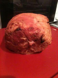 Diet coke ham with honey mustard glaze (slimming world friendly). Uk dinner recipe