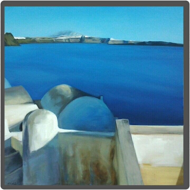 Oil on canvas, 100x100cm, 2014
