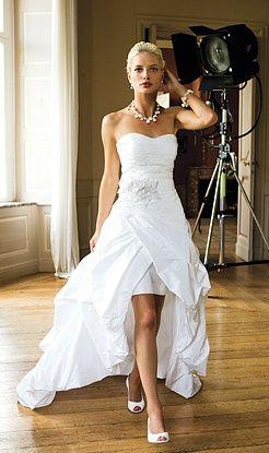 High Low Beach Wedding Dress | Classic Wedding Dresses 2012 from Linea Raffaell|suck marilyn manson ...