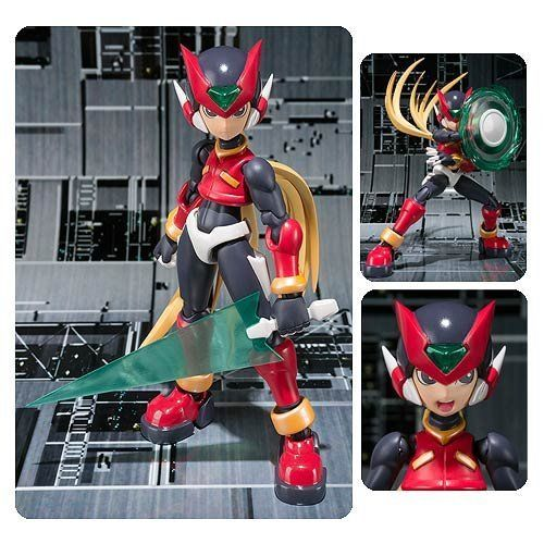 "Japan Anime ""Megaman"" Original BANDAI Tamashii Nations S.H.Figuarts / SHF [Tamashii Web Exclusive] Action Figure - Zero GBA"