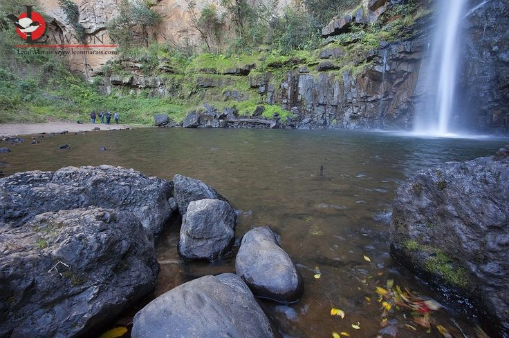 Photographers in action at Lone Creek Falls, Sabie, South Africa