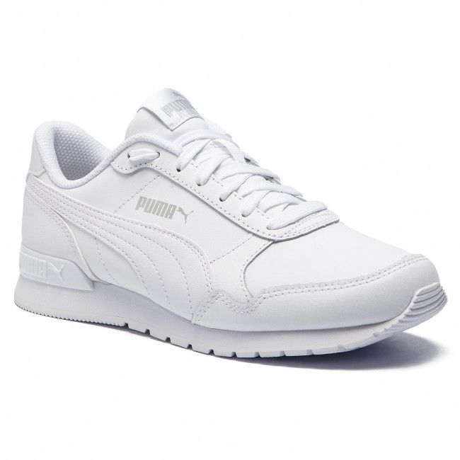 Sneakers Puma St Runner V2 L Jr 366959 02 Puma White Gray Violet Trending Shoes Puma Outfit Shoes