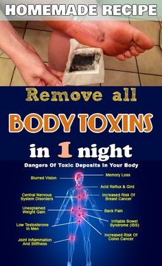 Detoxify your body over night with this amazing trick.