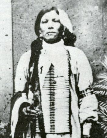 Crazy Horse. It's been long believed that there are no known photographs of Crazy Horse, but this may be the one exception. No one really knows for sure. It may have been taken around 1872.