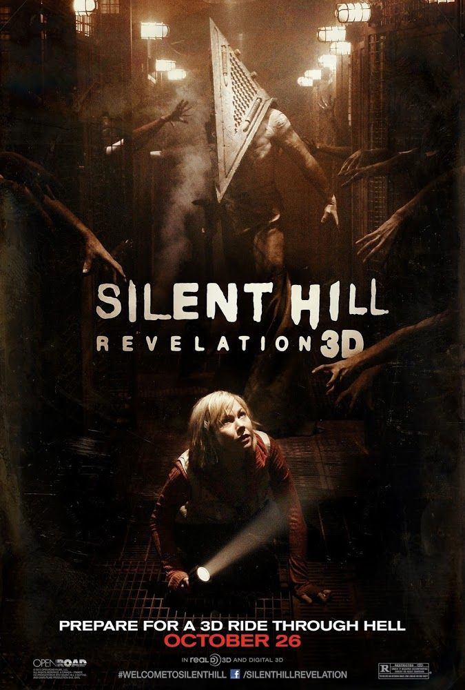Silent Hill 2: Revelación 3D - Silent Hill: Revelation 3D (2012) | El cine vuelve a la ciudad de pesadilla de los videojuegos... El cine vuelve a la ciudad de pesadilla de los...
