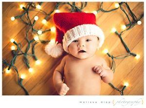 Várias inspirações para fotos de Natal.
