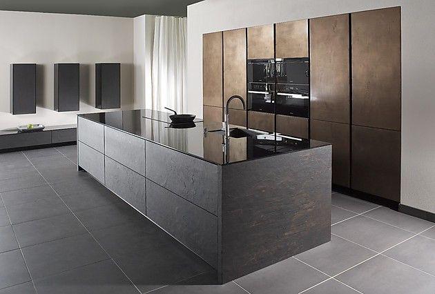 Designer Kitchen Metal & Stone