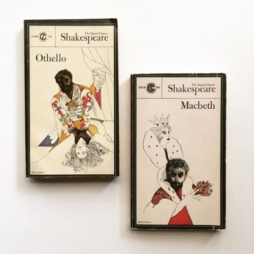 "macrolit:  "" Vintage editions of Othello and Macbeth (William Shakespeare)  """