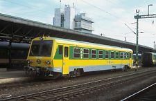 (!!!)ORIGINALDIA EISENBAHN: UNGARN GySEV 247.506(SOPRON) /RAILWAY SLIDE HUNGARY