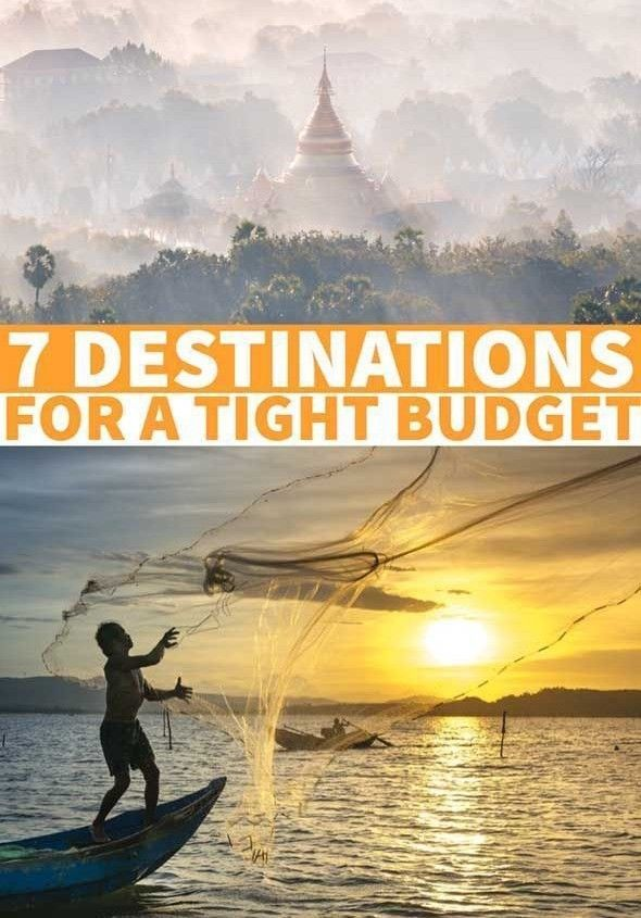 7 DESTINATION FOR A TIGHT BUDGET UNDER 20$ A DAY🛫🌏🛬