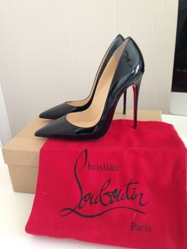 Christian Louboutin So Kate 120mm Black Pump Pigalle Style Size 7 ...