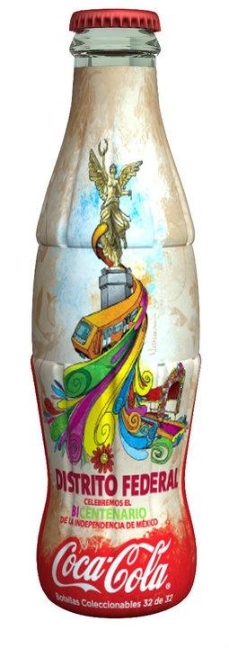 Mexico's Independence Bicentenary - Distrito Federal, Coca-Cola - 2010 #TheCrazyCities #crazyMexicoCity