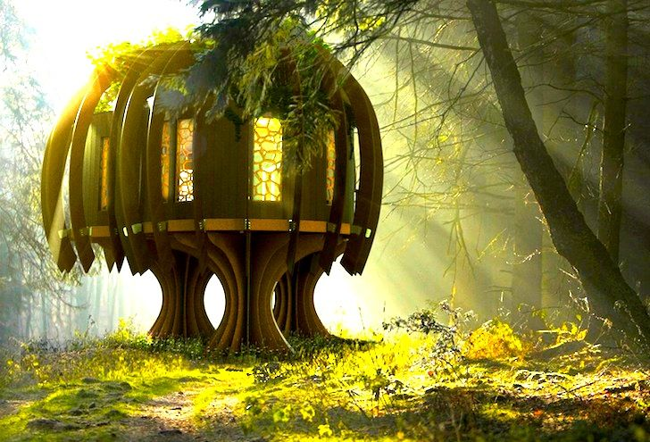 World's First Quiet Treehouse Provides Safe Haven in a Noisy Environment | Inhabitat - Sustainable Design Innovation, Eco Architecture, Green Building