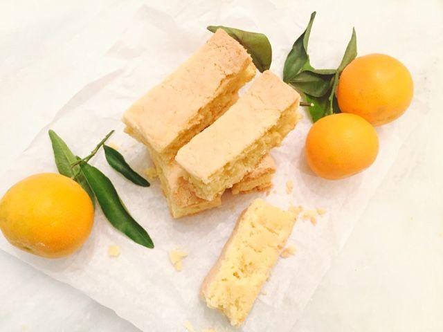 Gourmelita: Shortbread Μανταρινιού με Κάρδαμο