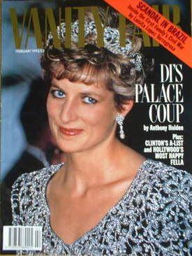 Vanity Fair magazine - Princess Diana cover (February 1993)