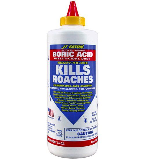 Nature's proven insecticide! Boric Acid is a ready-to-use insecticidal powder used to kill cockroaches, palmetto bugs, ants, silverfish, fleas and more.