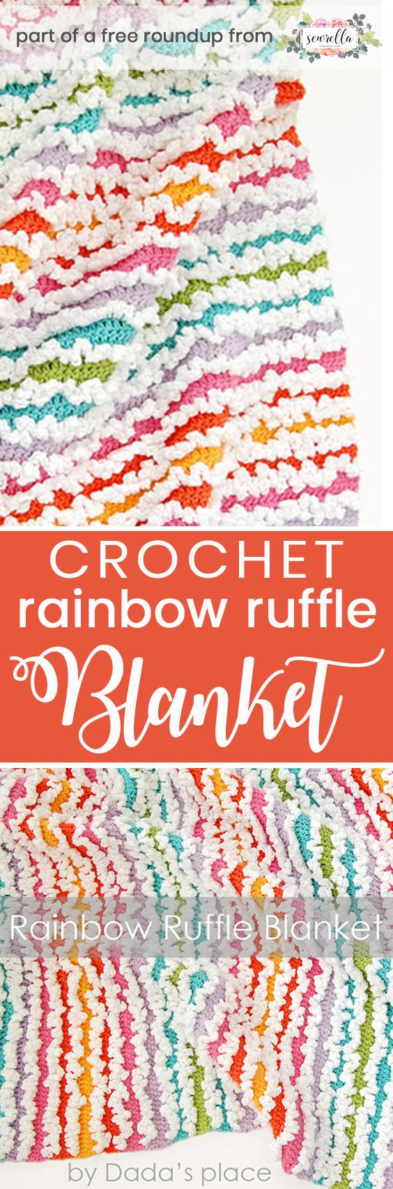 385 best crochet baby and kids blankets free images on crochet rainbow baby free pattern roundup bankloansurffo Image collections
