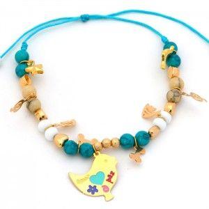 Pulsera Pájaro Dijes | Dulce Encanto accesorios para mujer.