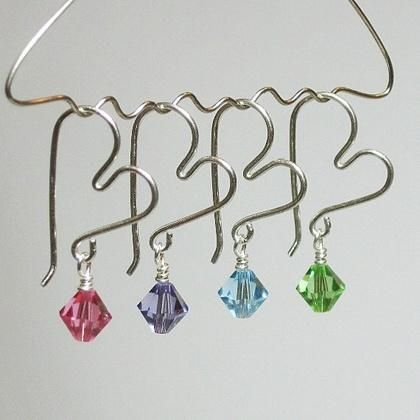 beautiful heart shaped earrings~~~