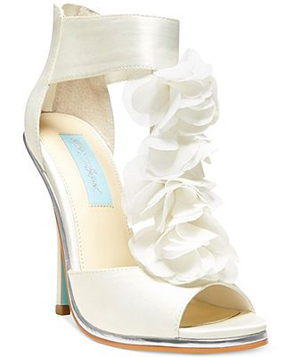 Blue by Betsey Johnson Bloom Evening Platform Sandals