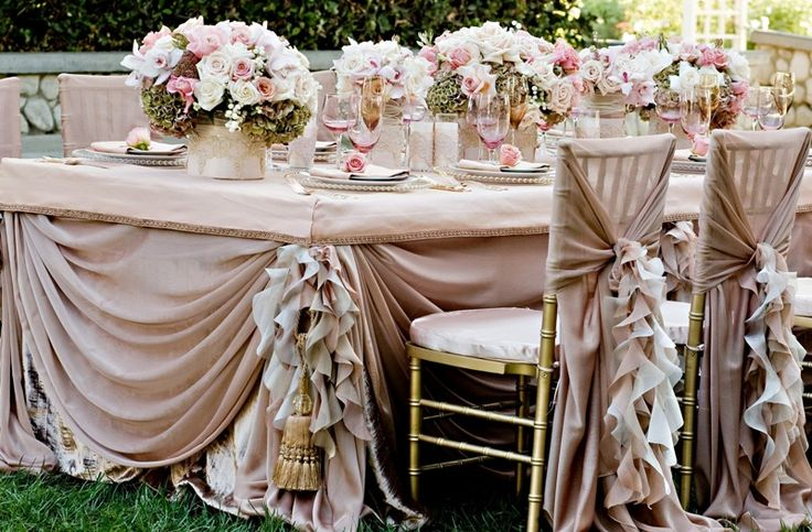 A shout out to the most awesome linen rental company in Southern California - Wildflower Linens in Buena Park, CA - oh yeah... they are pricey so save, save, save for your linens - it is so worth it!