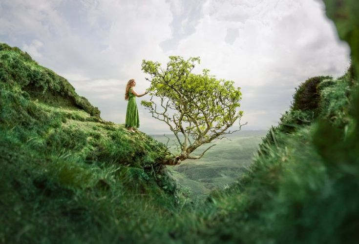 Lizzy Gadd S Photography Truly Shows The Difference Between A Selfie And A Self Portrait Nature Nature Photography Landscape Photographers