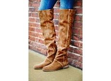 Womens Grandeur Over the Knee Boot, $423, Free People via TROVA