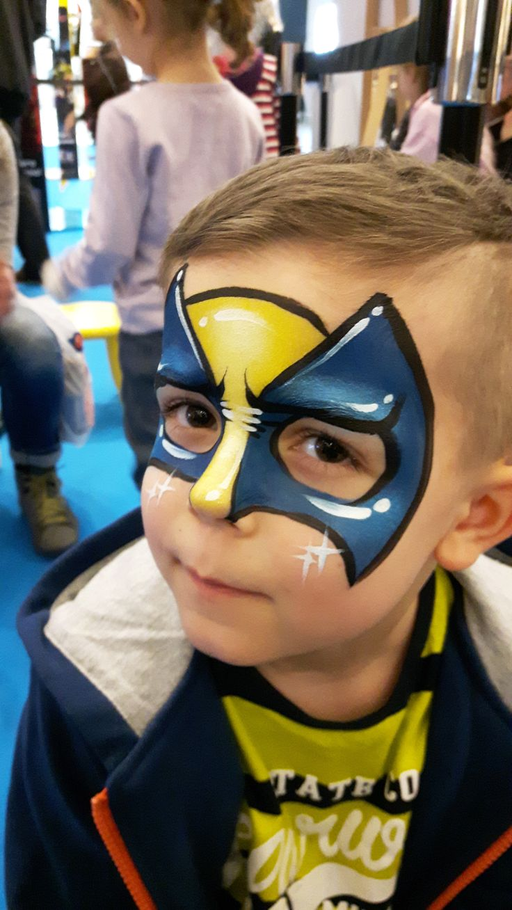 Wolverine, face paint, marvel