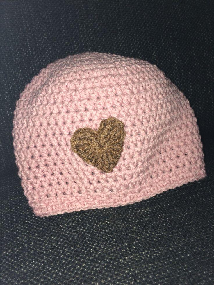Baby girl's hat crochet  On facebook Anne Beth s hobby ting