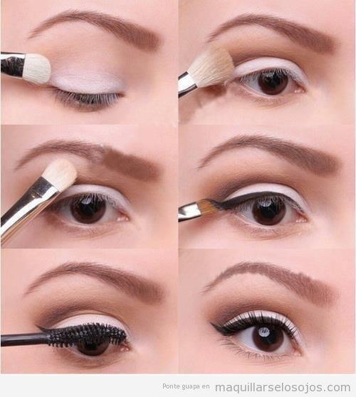 Maquillaje de ojos natural y sencillo, tutorial paso a paso