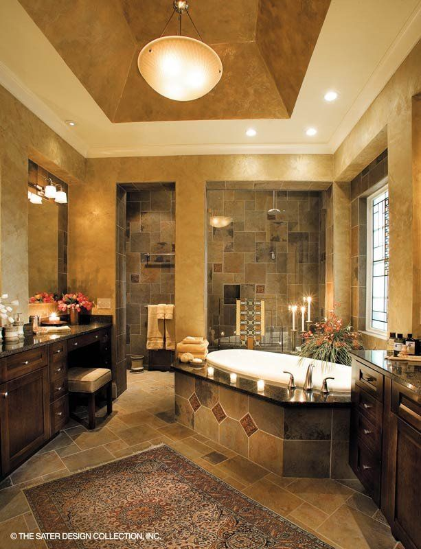 9 Best Mediterranean Bathroom Design Images On Pinterest