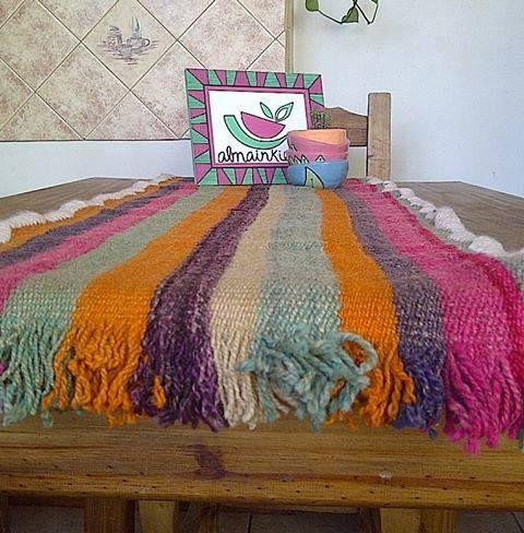 Caminos artesanales Tejido en telar con lana de oveja! (multicolor o motivos…
