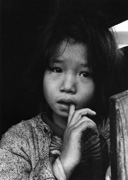 Rumie-chan - The Children of Chikuho by Ken Domon 1959「筑豊のこどもたち」るみえちゃん