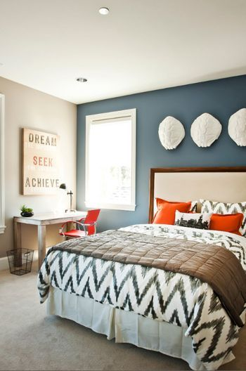 25 best blue accent walls ideas on pinterest midnight blue bedroom painting accent walls and navy bedroom walls - Best Bedrooms Design