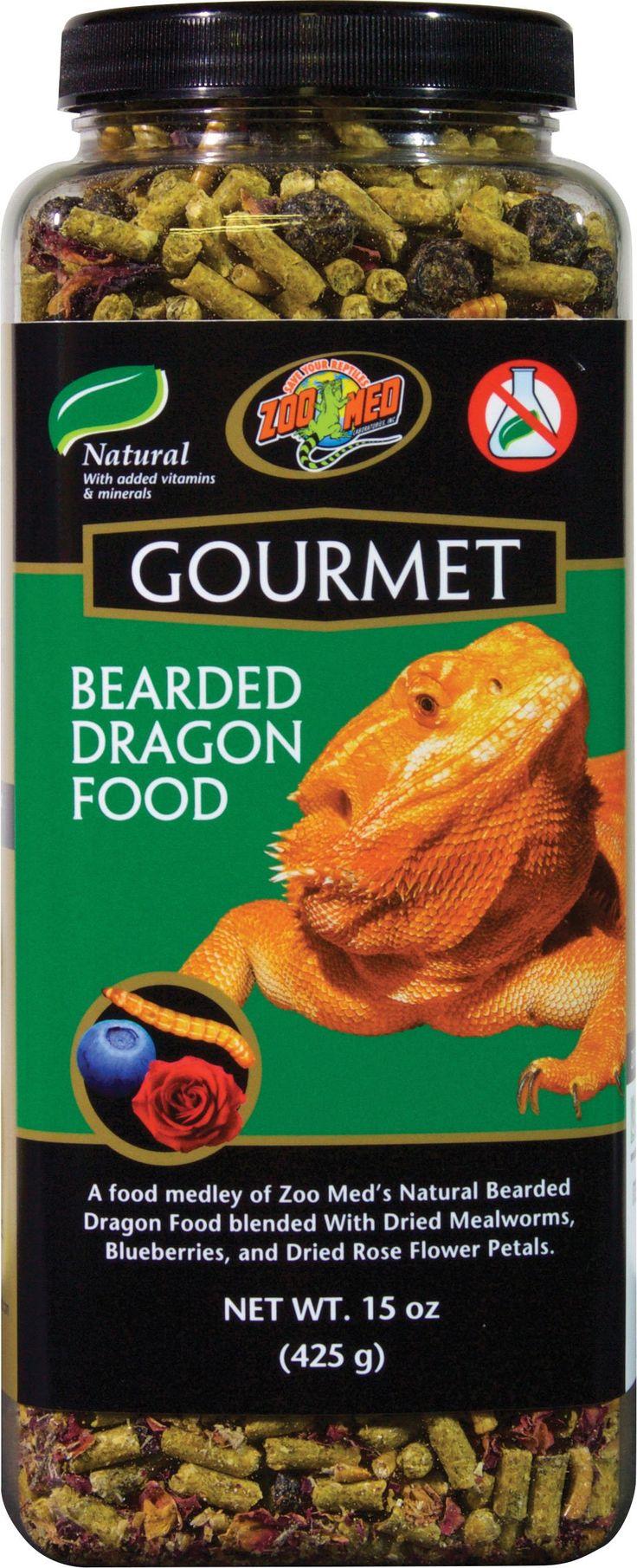 Zoo Med Laboratories Inc-Gourmet Bearded Dragon Food 15 Ounce
