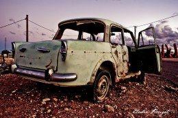 Old car / Coober Pedy / Australia / Photography