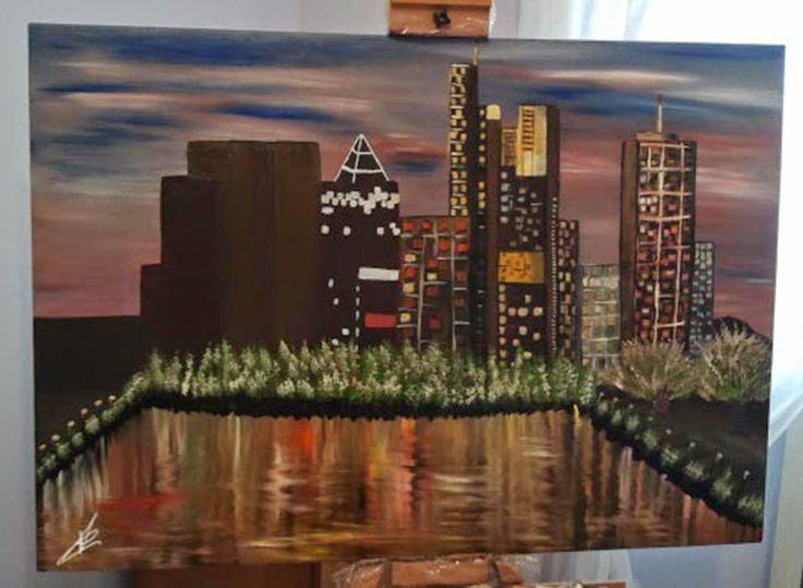"""""""L'Arte e i suoi colori"""": """"La città notturna"""""""