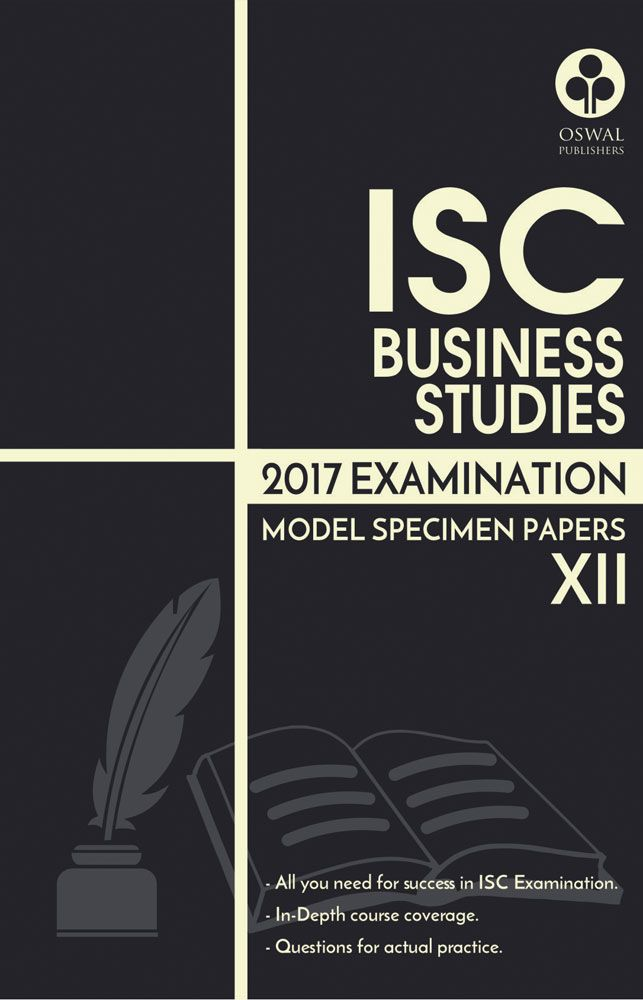 ISC Model Specimen Papers of Business Studies for Class XII