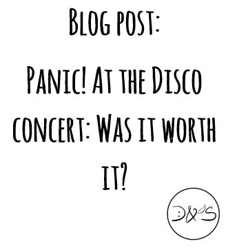 Was it really worth it? http://dandscontent.wixsite.com/doubtandsprout/single-post/2017/02/04/Panic-At-the-Disco-concert-Was-it-worth-it#panicatthedisco #concert #blog #2017