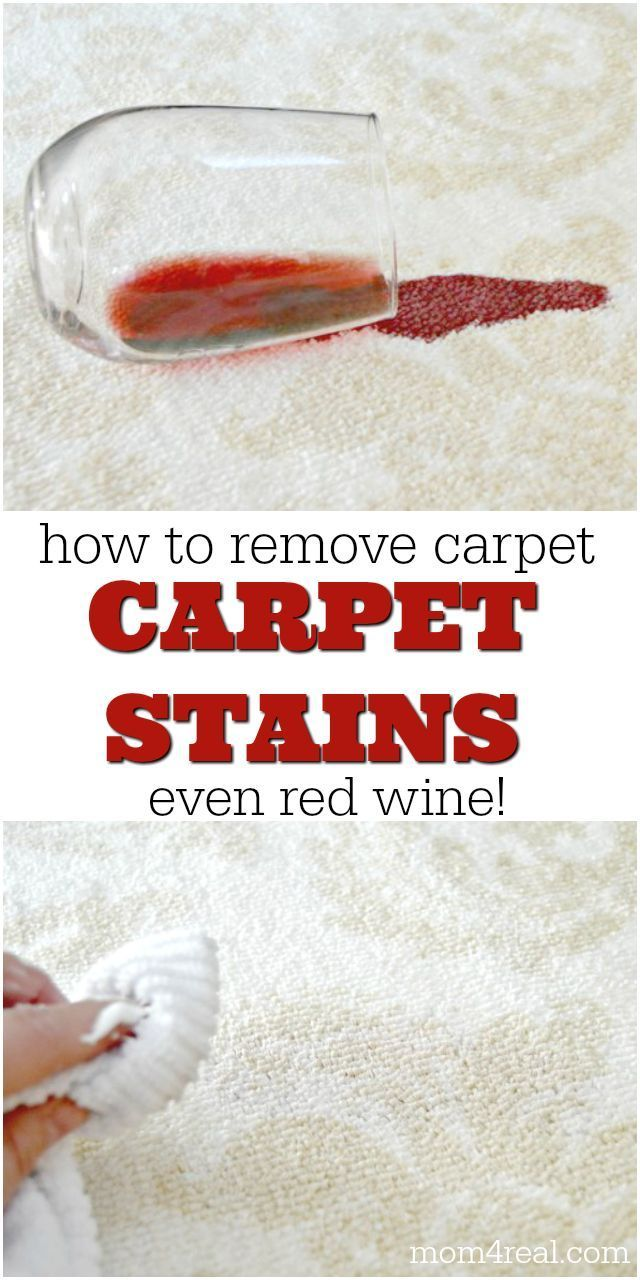 How To Remove Carpet Stains Even Removes Red Wine Cleaning Carpet Stains Carpet Stains Removing Carpet