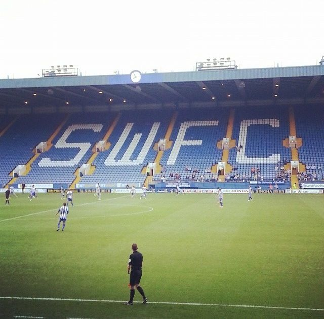 Sheffield Wednesday Football Pitch