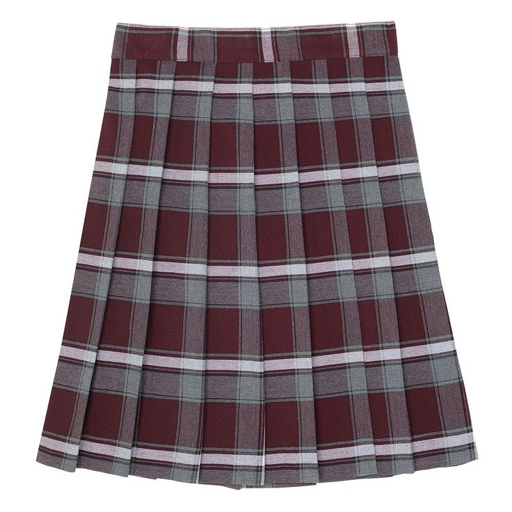 Girls 4-20 & Plus Size French Toast School Uniform Plaid Pleated Skirt, Size: 16 Plus, Red Other