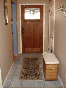 1000 images about entryway on pinterest modern foyer hall tree bench and entry ways Narrow entry bench