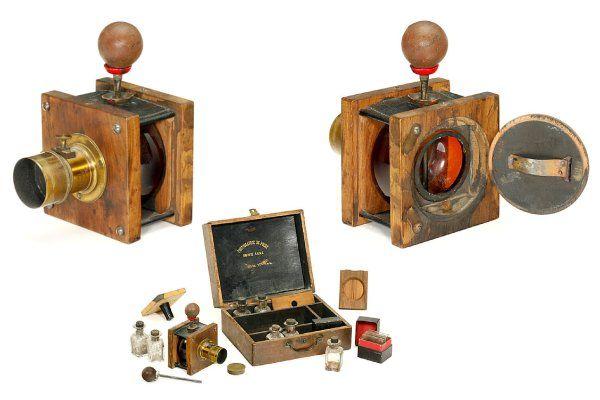 câmeras fotográficas antigas #1: 1840-1880