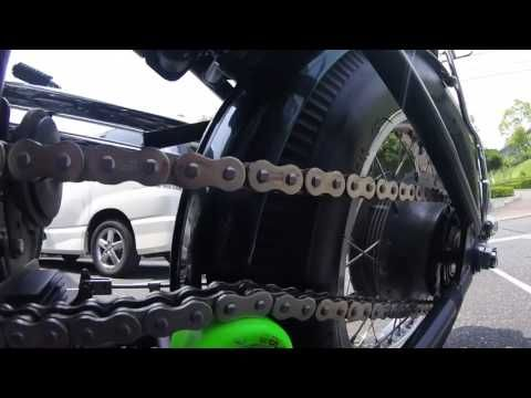 XS650 / Monstercraftsman Chain Tensioner - YouTube