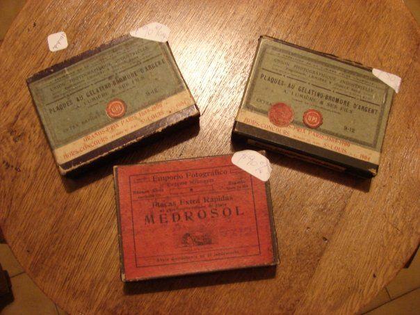 placas fotograficas antiguedad